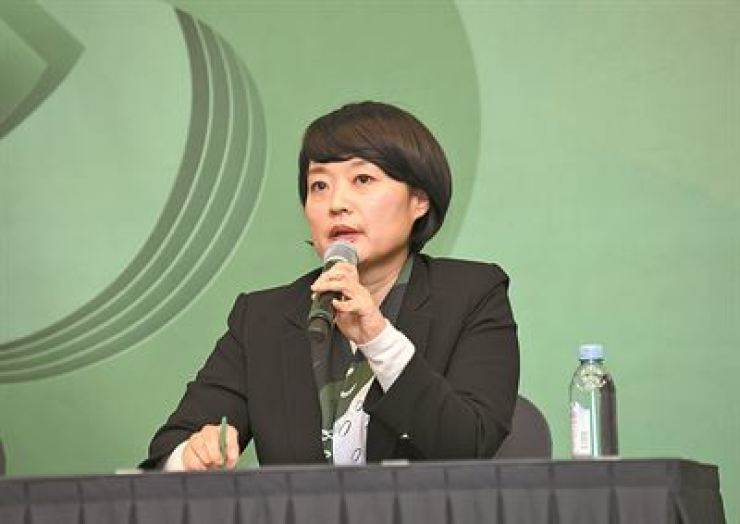 Naver CEO Han Seong-sook