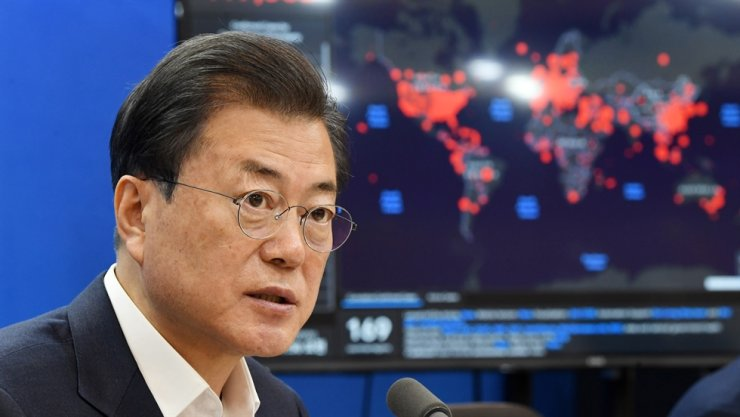 South Korean President Moon Jae-in will brief other global leaders on his country's 'effective' response to the novel coronavirus when they hold a special teleconference this week, Cheong Wa Dae said Wednesday. Yonhap