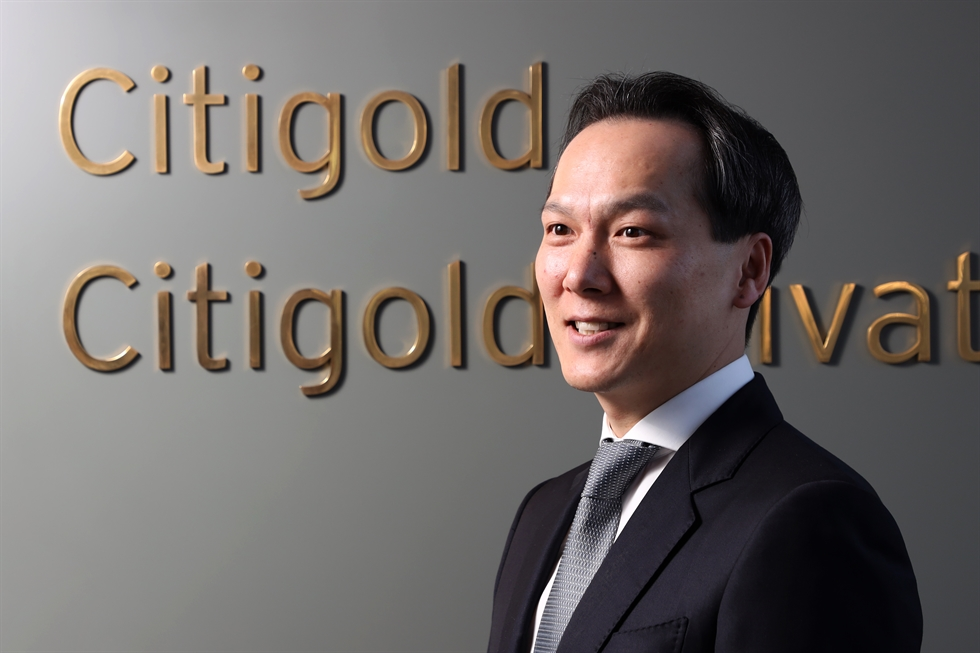 Citibank Korea's Director at Retail Banking Division Kim Ji-kang / Korea Times photo by Choi Won-suk