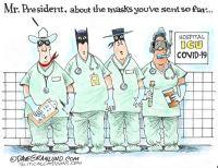 Hospital mask shortage