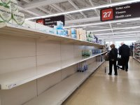 Panic buying follows coronavirus across the globe