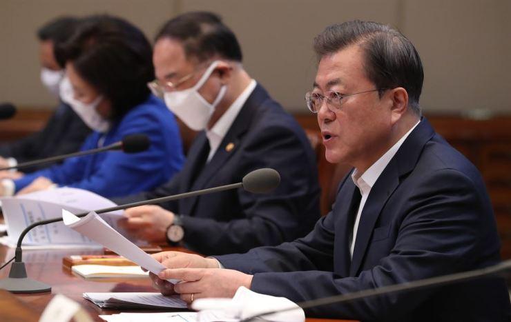 President Moon/ Yonhap