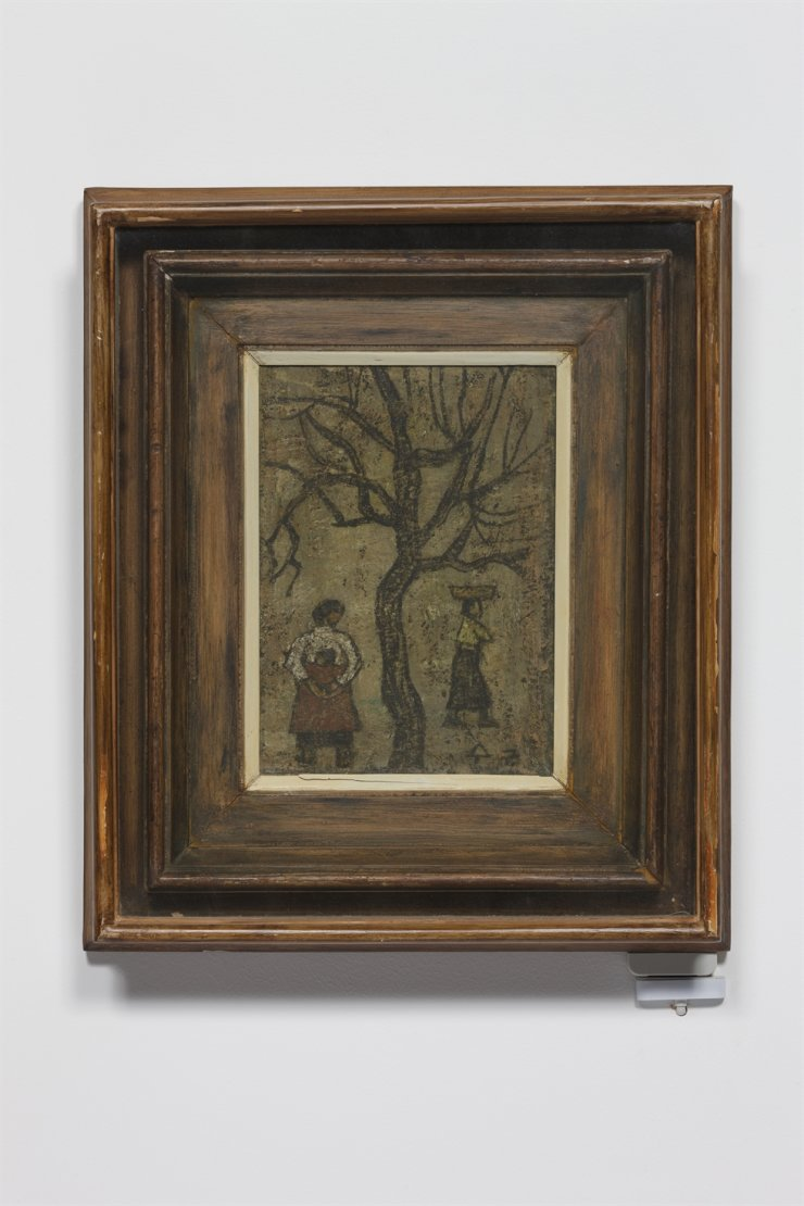 Park Soo-keun's 'Two Women and a Tree' / Courtesy of Park Soo Keun Museum