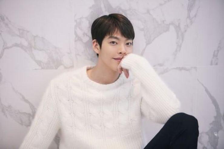 Actor Kim Woo-bin is set to make his movie return in the new sci-fi film 'Alien.' Korea Times file