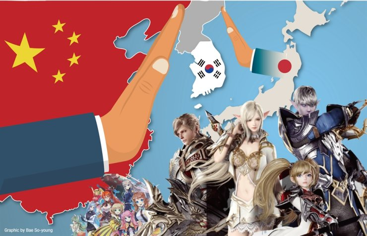 The Chinese government has been refusing to issue operating permits to Korean game companies for three years in retaliation to the deployment in Korea of U.S. missile defense system THAAD. Japan issued a travel ban on Korean nationals due to the ongoing COVID-19 pandemic, making it difficult for small gaming firms to enter the Japanese market. Graphics by Bae So-young
