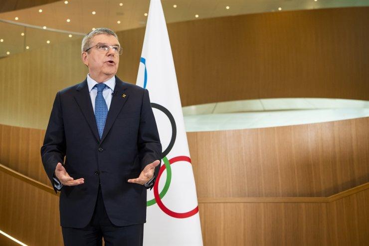 IOC head Thomas Bach. AP-Yonhap