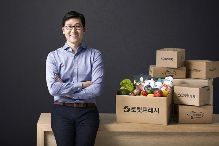 Coupang founder and CEO Kim Bom-suk.