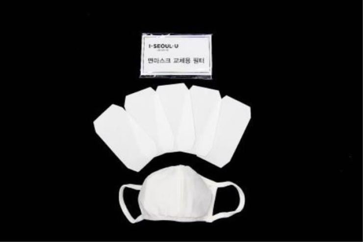 The Seoul metropolitan government said Tuesday that it will provide a total of 100,000 filter replaceable face masks to foreign residents who are sidelined from the government-controlled mask supply system amid the coronavirus outbreak. Courtesy of Seoul city, Yonhap