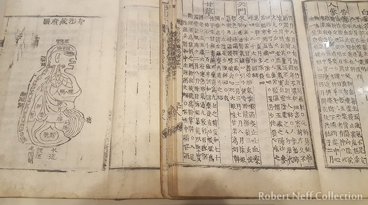 A medical journal on display at the Heo Jun Museum in Gangseo-gu, Seoul, January 2020. Robert Neff Collection