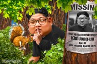 Hide and seek Kim Jong-un