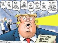 Trump's pandemic pathway