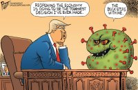 Trump and reopening the economy