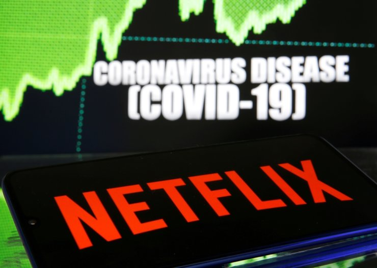 A Netflix logo is seen in this photo. / Reuters-Yonhap
