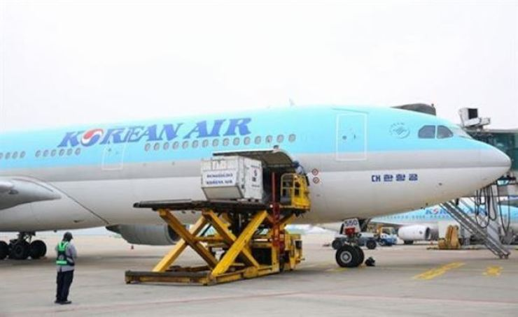 Korean Air has suspended most of its flights on international routes as an increasing number of countries close their borders or take further measures against incoming passengers. Courtesy of Korean Air