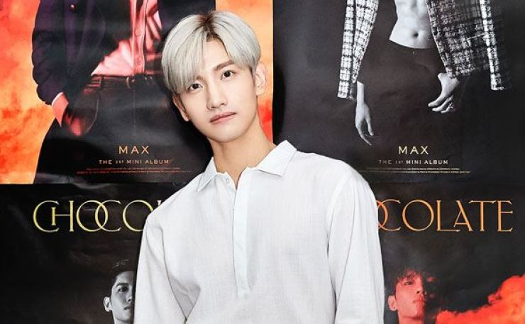 Set to release the first solo album in his 17-year K-pop career Monday, Max Changmin of the male duo TVXQ described the work entitled 'Chocolate' as 'sweetly addictive.' Courtesy of SM Entertainment