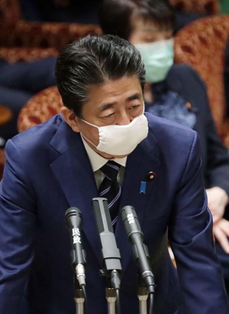 Japanese Prime Minister Shinzo Abe Yonhap
