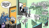 Lockdown exit plan