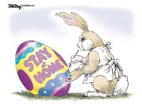 Stay at home Easter