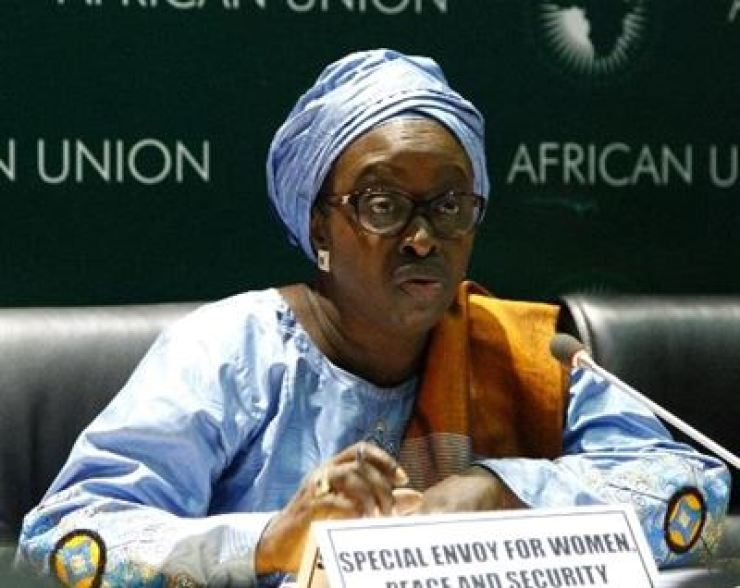 African Union (AU) Special Envoy on Women Peace and Security Bineta Diop / Courtesy of AU
