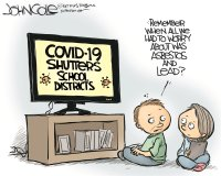 COVID 19 closes school districts