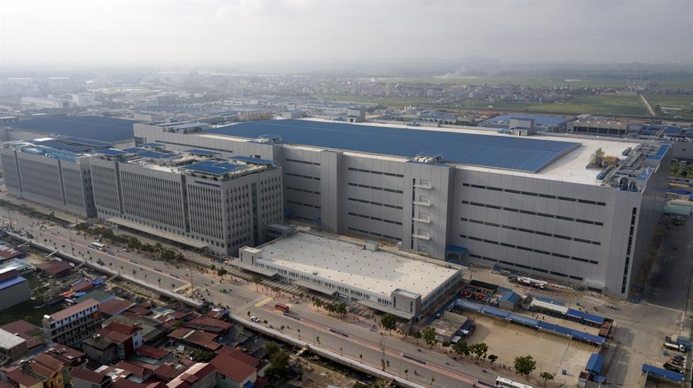 Samsung Display's Bac Ninh factory in Vietnam / Courtesy of Samsung Display