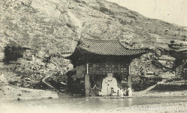 The White Buddha, circa 1910-1920s. Robert Neff Collection