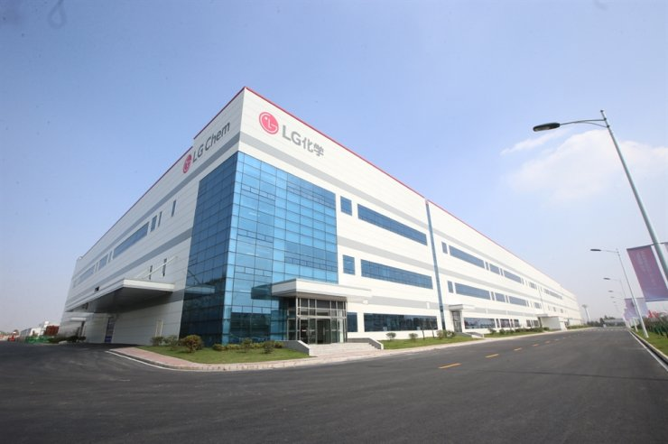 LG Chem's EV battery plant in Nanjing, China. Courtesy of LG Chem