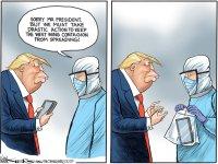 White House contagion
