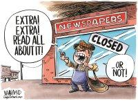 Coronavirus devastating news industry