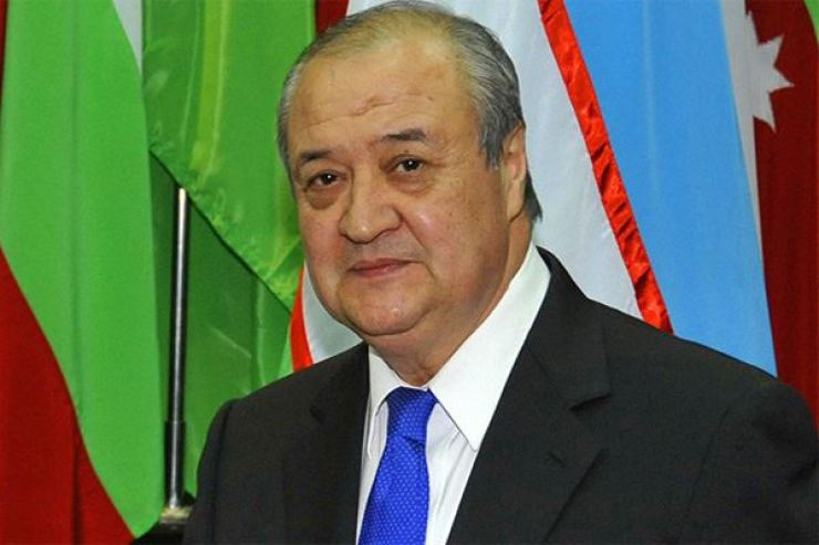 Uzbek Foreign Minister Abdulaziz Kamilov