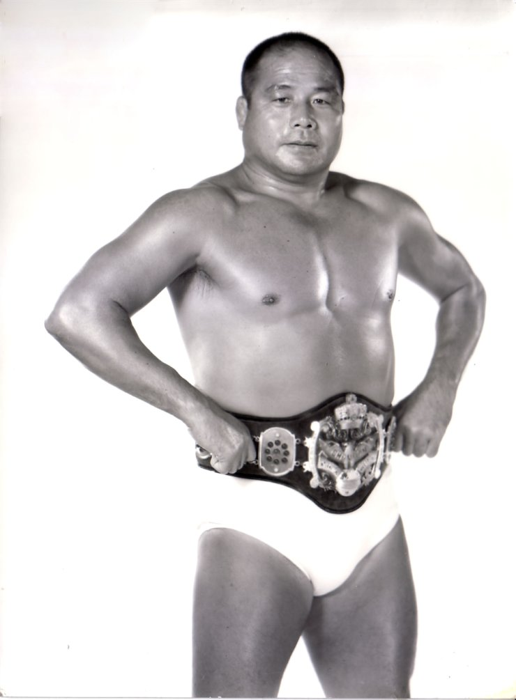 Late Korean pro wrestling legend Kim Il