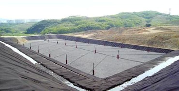 A Koentec's landfill in Ulsan / Captured from Koentec website