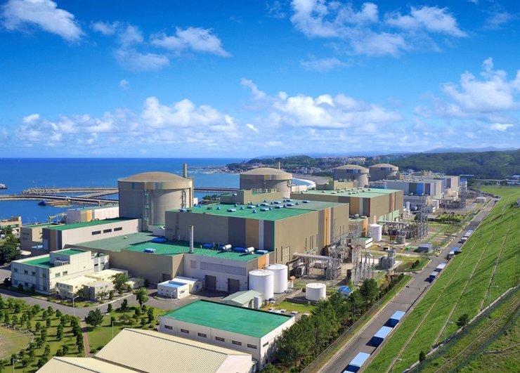 Wolsong nuclear power plant in Gyeongju, North Gyeongsang Province / Courtesy of Korea Hydro & Nuclear Power