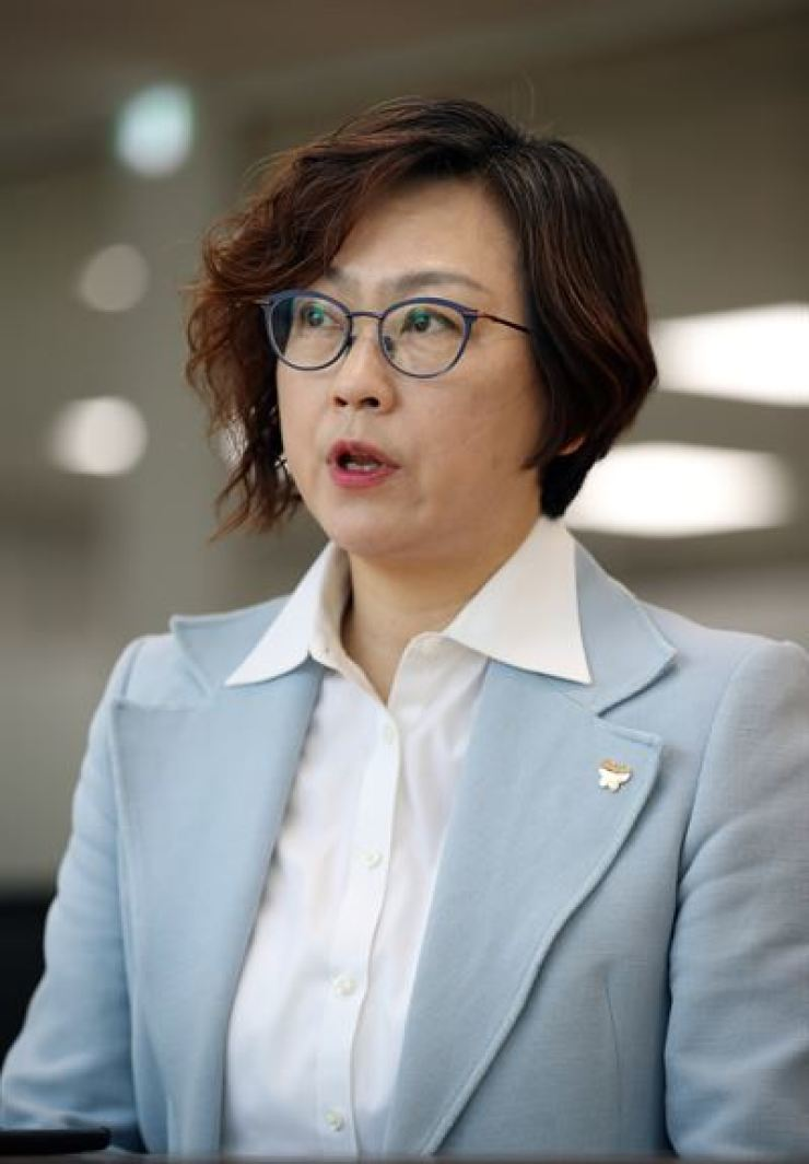Lee Na-young, a professor of sociology at Chung-Ang University and head of The Korean Council for Justice and Remembrance for the Issues of Military Sexual Slavery by Japan. Yonhap
