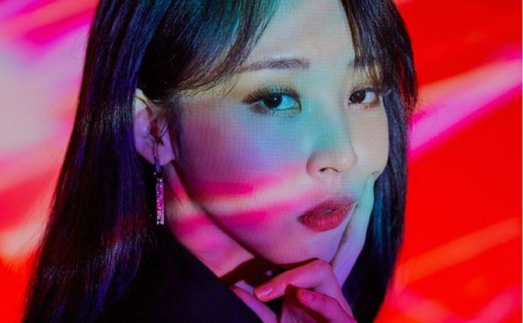 Moonbyul of K-pop girl group MAMAMOO will play her first solo concert online on May 30. Courtesy of RBW