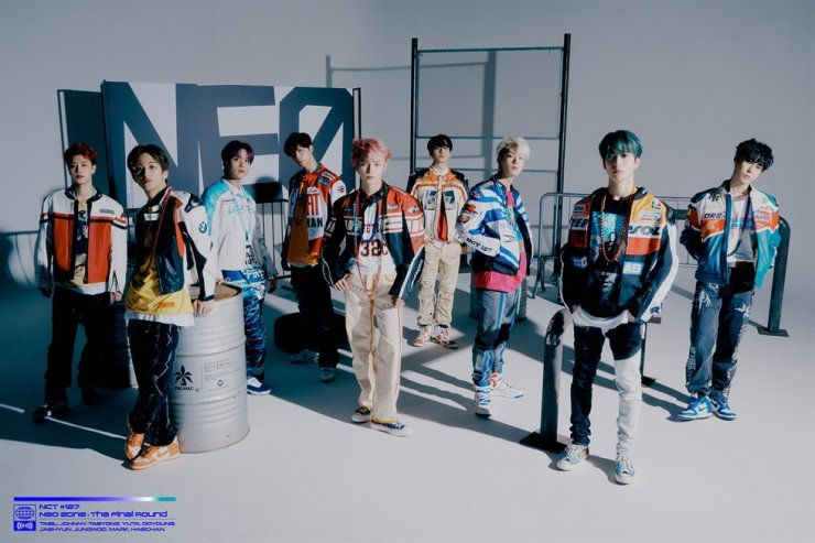 K-pop boy group NCT 127. Courtesy of SM Entertainment