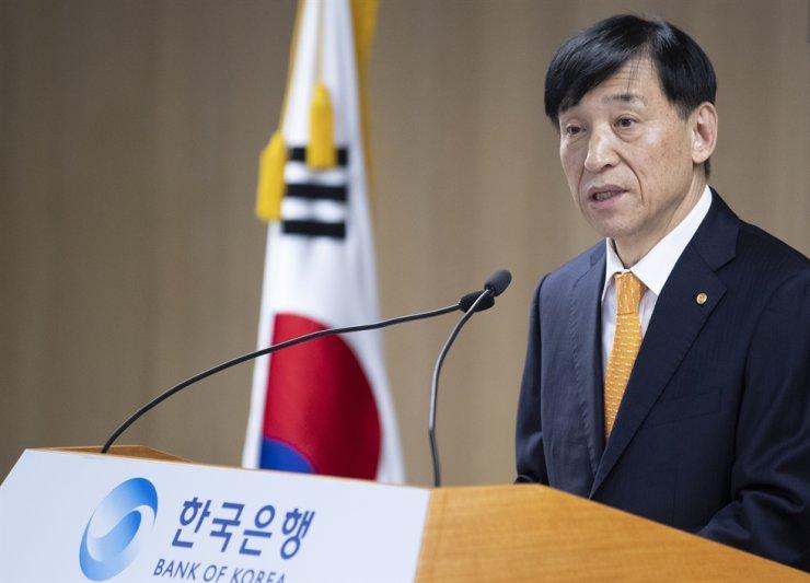 Bank of Korea Governor Lee Ju-yeol / Yonhap