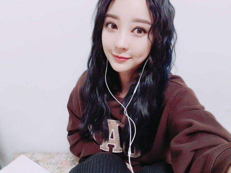 Hyerin of K-pop girl band EXID.