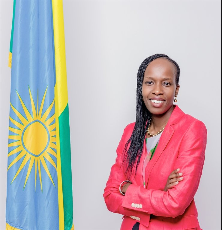 Rwandan Ambassador to Korea Dailia Yasmin Amri Sued has been named one of the 21 selected candidates for Tutu Leadership Fellowship for 2020, an annual learning program designed for Africa's highest potential leaders. / Courtesy of Embassy of Rwanda