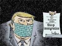 Trump wants to halt immigration