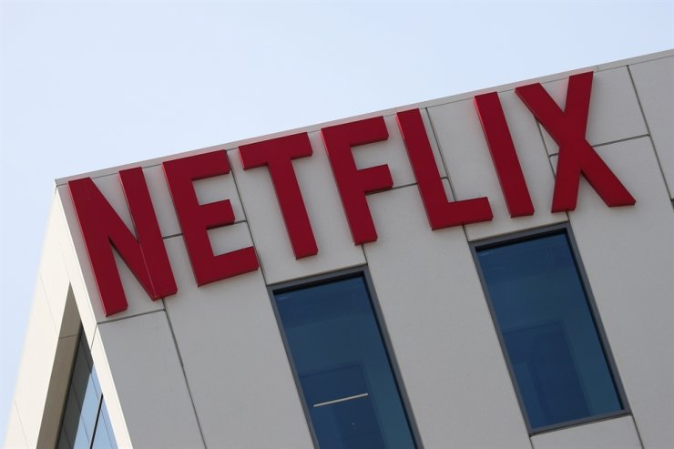 The Netflix logo is seen on their office building in Hollywood, Los Angeles, Calif., U.S. July 16, 2018. Reuters