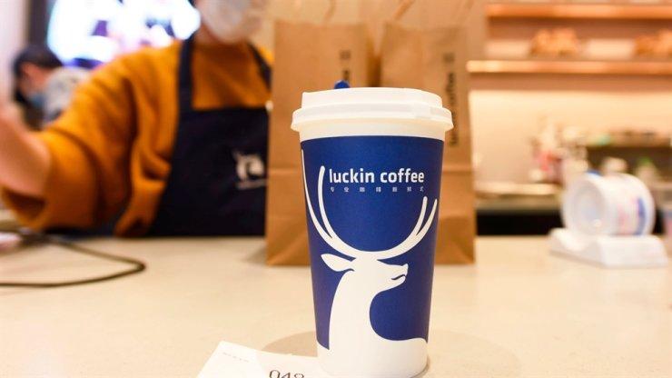 Luckin Coffee / AP