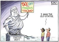 Barred justice