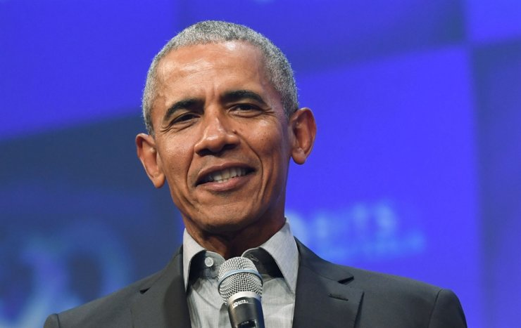 In this file photo taken on September 29, 2019 former US President Barack Obama speaks during the 'Bits & Pretzels' start-ups festival in Munich, southern Germany. Barack Obama helped raise $7.6 million for White House hopeful Joe Biden during a June 23, 2020, virtual fundraiser where the former president said a 'great awakening' among Americans could help defeat Donald Trump in November's election. /AFP