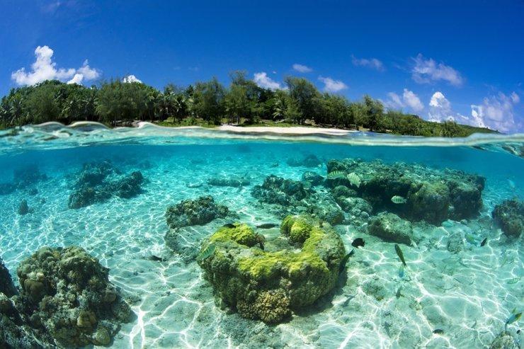 Oban Beach / Courtesy of Marianas Visitors Authority Korea