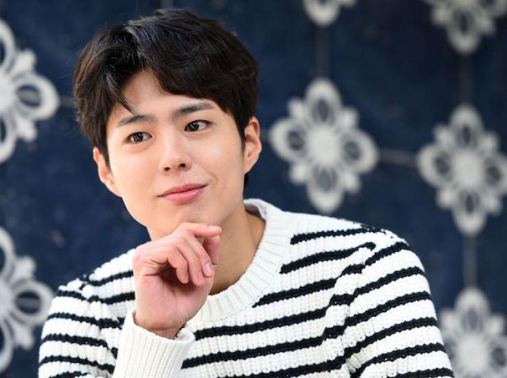 Actor Park Bo-gum. Korea Times file