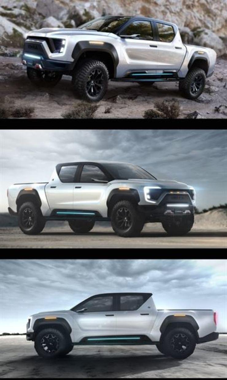 Nikola Motor Company's zero-emission hydrogen-electric truck Badger / Courtesy of Nikola Corp.