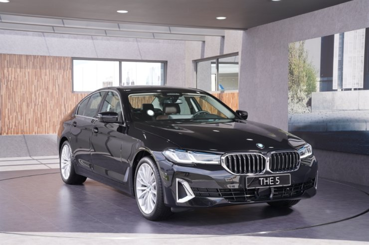The new BMW 523d / Courtesy of BMW Korea