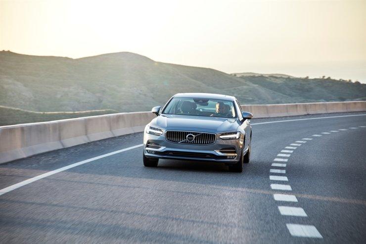 Volvo's S90 sedan / Courtesy of Volvo Car Korea