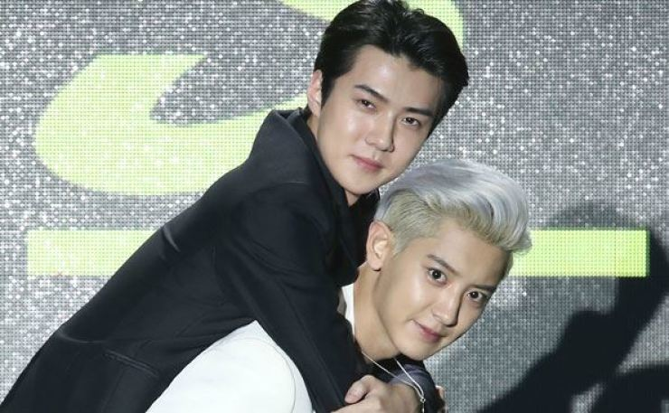 Exo S Chanyeol Sehun To Drop Second Duo Album